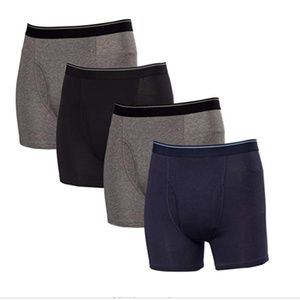 NEW Kirkland Signature Men's Boxer Brief 4-Pack